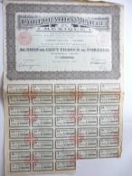 Corporation Minière Du Mexique Cinq Cents Francs N°208,954 - Actions & Titres