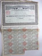 Corporation Minière Du Mexique Cinq Cents Francs N°208,957 - Actions & Titres