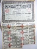 Corporation Minière Du Mexique Cinq Cents Francs N°208,959 - Actions & Titres