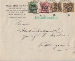 DR Brief Mif Minr.288,291,2x 299 Stuttgart 16.10.23 - Allemagne