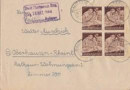 DR Brief Mef Minr.4x 869 Bautzen 24.3.44 - Briefe U. Dokumente