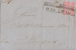 NDP Brief EF Minr.16 R2 Bramsche 24.5. - Norddeutscher Postbezirk