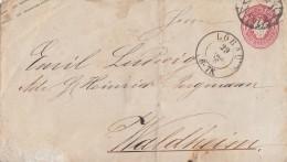 Sachsen GS-Umschlag 1 Ngr. Löbau 29.3.66 - Sachsen