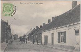 26952g  CHARRETTE A CHEVAL - ZICHT IN HET DORP - Esschen - 1907 - Essen