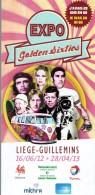 Dépliant Sur L'exposition Golden Sixties J'avais 20 Ans En 1960 (Liège, 2012 - 2013) - Tourism