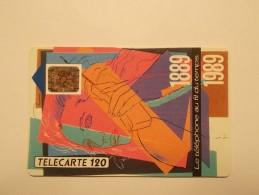 Télécarte - Carte Téléphone : Téléphone Au Fil De L'eau 120 Unites (25/26) - Sin Clasificación