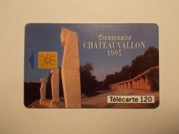 Télécarte - Carte Téléphone : CHATEAUVALLON - 120 Unites - (31/32) - France