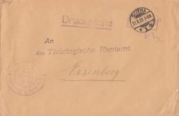 DR Brief Gebühr Bezahlt Gotha 31.8.23 - Allemagne
