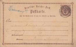 DR Ganzsache Nachv. Stempel K2 Flinsberg 3.8. - Deutschland