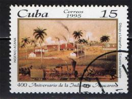 CUBA - 1995 - INDUSTRIA CUBANA DELLO ZUCCHERO - USATO - Used Stamps