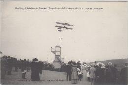 27041g   MEETING D'AVIATION STOCKEL 1910  -  VOL DE DE RIDDER - Woluwe-St-Pierre - St-Pieters-Woluwe