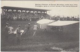 27115g   MEETING D'AVIATION STOCKEL 1910  - OLIESLAGERS APRES UN VOL DE 2 HEURES A 700 METRES D'ALTITUDE - Woluwe-St-Pierre - St-Pieters-Woluwe