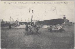 27117g   MEETING D'AVIATION STOCKEL 1910  - ESSAI DU MONOPLAN DE L'AVIATEUR OLIESLAGERS - St-Pieters-Woluwe - Woluwe-St-Pierre