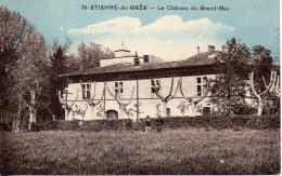 13 St-ETIENNE-du-GRES  Le Château Du Grand Mas - Other Municipalities