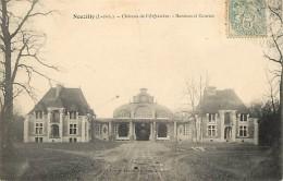 - Indre Et Loire -ref A679- Nouzilly - Chateau De L Orfraisiere  -remises Et Ecuries- Chateaux - Batiments Et Architectu - France