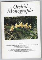 Orchid Monographs N°1 à 4 - Vogel & Al. - Libros, Revistas, Cómics