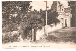 Postal De Hendaye, Entree De La Propriete De Pierre Loti. - Hendaye