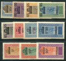 Soudan (1922) N 42 à 52 * (charniere)