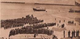 ARROMANCHES 1er Anniversaire Du D DAy  Service Religieux Sur La Plage 1945 - Non Classés