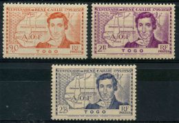 Togo (1939) N 172 à 174 * (charniere)