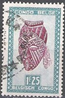 Congo Belge 1947 Michel 273 O Cote (2002) 0.20 Euro Artisanat Cachet Rond - Congo Belge
