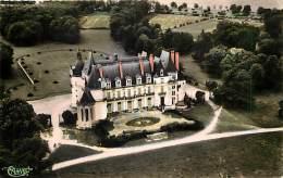 - Indre Et Loire -ref A650 - Nouzilly - Chateau De L Orfraisiere - Vue Aerienne - Carte Bon Etat - - France