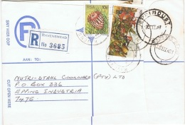 CAC-L4 - AFRIQUE DU SUD Belle Lettre Recommandée De RAVENSMEAD Affr. CACTUS - Afrique Du Sud (1961-...)