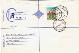 CAC-L9 - AFRIQUE DU SUD Belle Lettre Recommandée De SEBOKENG Affr. CACTUS - Afrique Du Sud (1961-...)