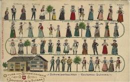 Costumes Suisses - Ed. H Guggenheim N°5979 - Non Classificati