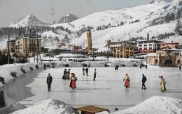 ST.MORITZ → Eisbahn Mit Vielen Gästen Und Touristen 1910 - GR Graubünden