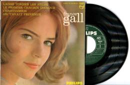 EP 45tours : FRANCE GALL  : Laisse Tomber Les Filles - Christiansen  (1964) - Vinyl Records