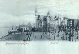 - Anvers -  Embarcadère Et Musée Steen - Antwerpen