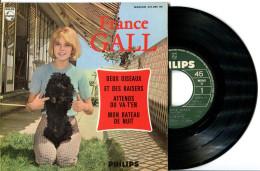 EP 45tours : FRANCE GALL  : Attends Ou Va-t'en - Et Des Baisers (1965) - Vinyl Records