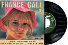 EP 45tours : FRANCE GALL  : L'Amérique - Nous Ne Sommes Pas Des Anges (1965) - Vinyl Records
