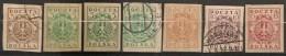 Timbres - Pologne - 1919 - Lot De 7 Timbres -