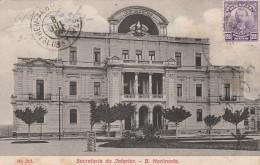 Secretaria Do Interior  - B.  Horizonte -  (1909) - Scan Recto-verso - Belo Horizonte