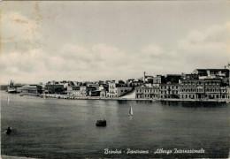 BRINDISI  PANORAMA   ALBERGO  INTERNAZIONALE       (VIAGGIATA) - Brindisi