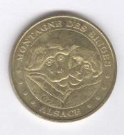 Monnaie De Paris - Montagne Des Singes - Alsace 2008 - Monnaie De Paris