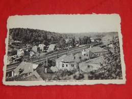 LOBBES  -  Panorama Vers La Gare       -  (2 Scans) - Lobbes