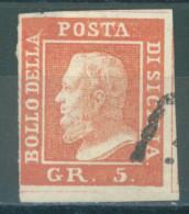 ITALY SICILIA - USED/OBLIT. - 1859  - FERDINANDO II - Yv 21 - Mi 4  Sa 10 -  Lot 14127 2nd CHOICE SEE SCANS - Sicile