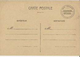 """1941 - CARTE ENTIER POSTAL De SERVICE """"COURRIER OFFICIEL De L'ETAT FRANCAIS"""""""
