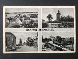 Groeten Uit Garderen-vierluik----W.H. 401----gelopen 1957 - Gruss Aus.../ Gruesse Aus...