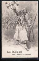 Le Clairon -- Les Chants Du Soldat  -- Journees Du Poilu -- 31 Octobre - 1 Novembre 1915  - Carte Double - Patriottisch