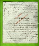 RARE LETTRE ET COMPTE DE VENTE 1791 Par UN FABRICANT DE PAPIER à ROUEN Pour MM. MOUCHEZ & HOLAGRAY NEGOCIANTS à BORDEAUX - ... - 1799