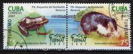 CUBA - 2007 - TURISMO: FAUNA CUBANA - USATI - Used Stamps