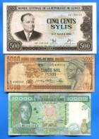 Guinee  7  Billets - Guinea