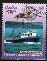 CUBA - 2005 - PESCHERECCIO CUBANO - USATO - Used Stamps