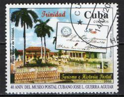 CUBA - 2005 - MUSEO POSTALE CUBANO - 40° ANNIVERSARIO - USATO - Used Stamps