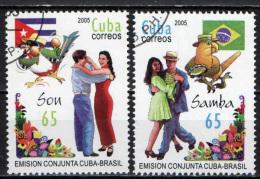 CUBA - 2005 - BALLI LATINO-AMERICANI - USATI - Used Stamps