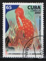 CUBA - 2003 - CONGRESSO DI SESSUOLOGIA - USATO - Used Stamps